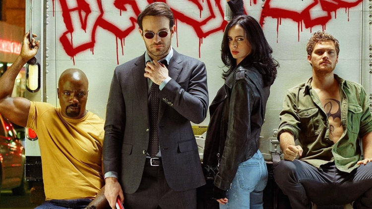 The Defenders in promotional art for the television series 2.png