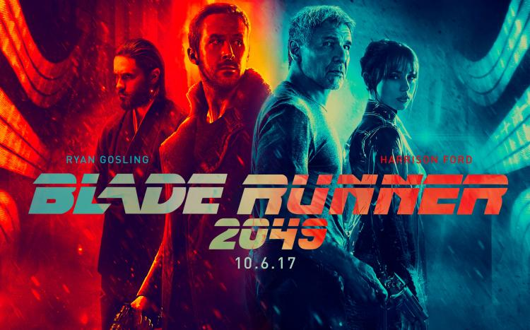 Promotional artwork for Blade Runner 2049.