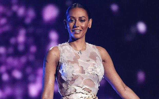 Mel B was bruised during the X Factor live shows